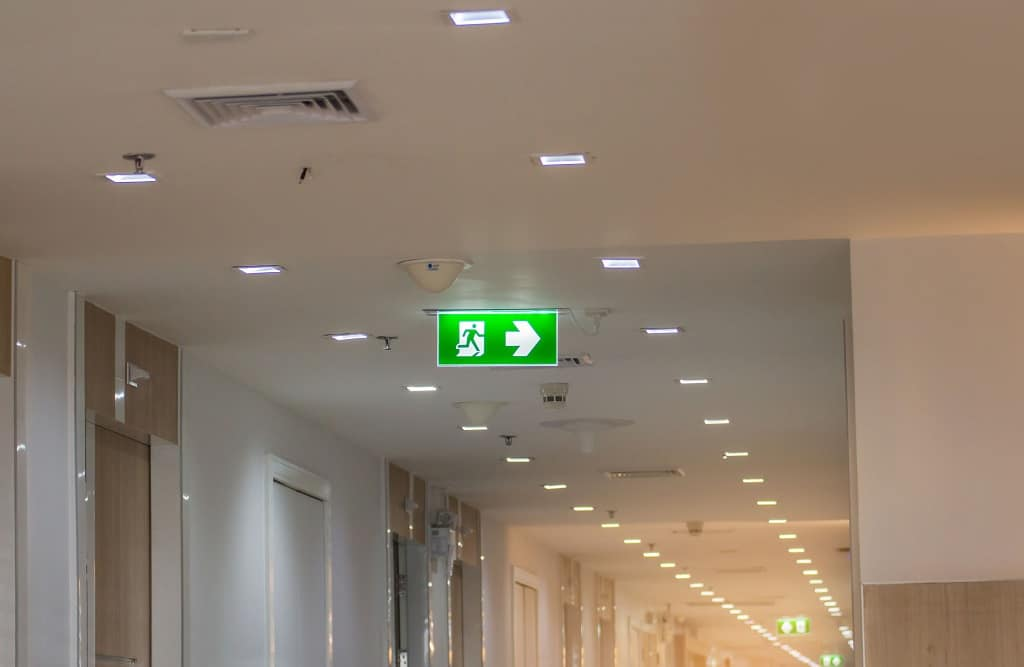 Commercial Electrics in office